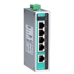 MOXA Unmanaged Industrial Ethernet Switch, 5 Port, EDS-205A
