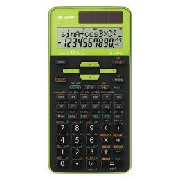 SHARP Schulrechner EL-531 TG-GR, Farbe: grün