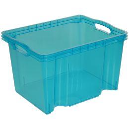 keeeper Aufbewahrungsbox franz, 13,5 Liter, blau