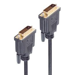 shiverpeaks BASIC-S DVI Kabel, DVI-D 24+1 Stecker -