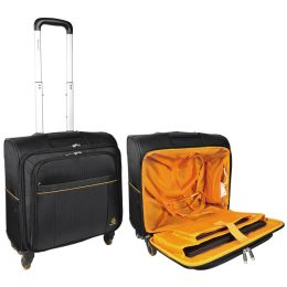 EXACOMPTA Notebook-Trolley EXACTIVE, Polyester, schwarz