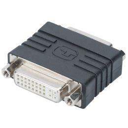 DIGITUS DVI Adapter, DVI-I (24+5) Kupplungen, schwarz