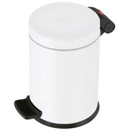 Hailo Tret-Kosmetikeimer Solid S, 3 Liter, weiß
