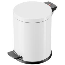 Hailo Tret-Abfalleimer Solid M, 12 Liter, weiß