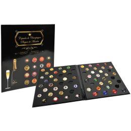 EXACOMPTA Sammelalbum für Champagner-Kapseln, schwarz