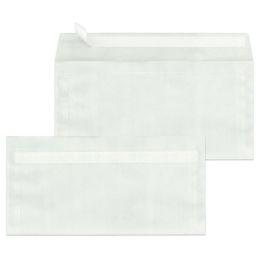 MAILmedia Briefumschläge DIN lang, haftklebend, transparent