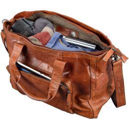 PRIDE&SOUL Damentasche ROYAL T, Echtleder, braun