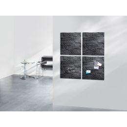 sigel Glas-Magnettafel artverum Design, (B)480 x (H)480 mm