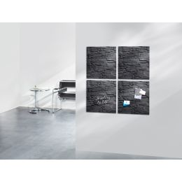 sigel Glas-Magnettafel artverum Design, (B)480 x (H)480 mm