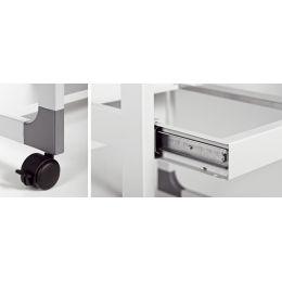 DURABLE PC-Arbeitsplatz SYSTEM Computer Trolley 75 VH