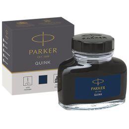 PARKER Tintenflacon QUINK, Inhalt: 57 ml, schwarz-blau