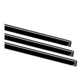 EXACOMPTA Klemmschiene Serodo, A4, 3 mm, schwarz