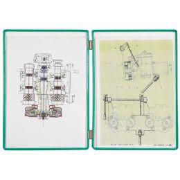 tarifold Sichttafeln, A4, Doppelmappen, schwarz
