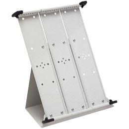 tarifold Tischständer, DIN A4, lichtgrau, unbestückt