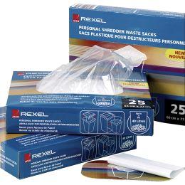 Rexel Abfallbeutel für Aktenvernichter Serie 250
