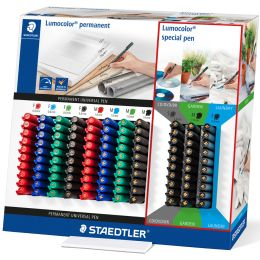 STAEDTLER Lumocolor Permanent-Marker Center, 110er Display