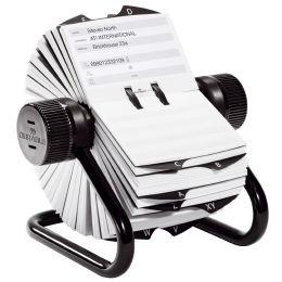 DURABLE Adresskartei TELINDEX, schwarz