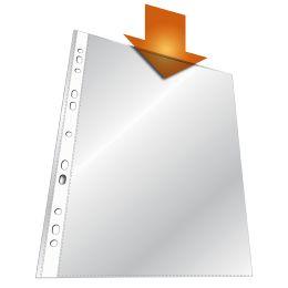 DURABLE STANDARD Prospekthülle, DIN A4, PP, transparent