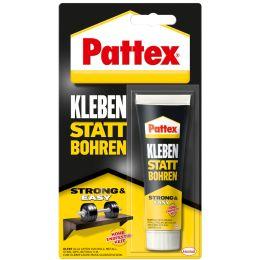 Pattex Kraftkleber Kleben statt Bohren, 50 g Standtube, weiß