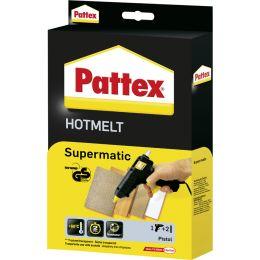 Pattex Heißklebepistole HOT SUPERMATIC, schwarz/gelb