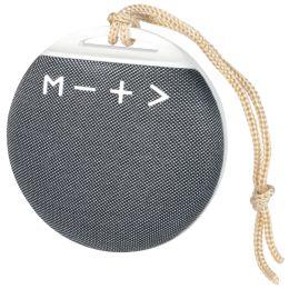 LogiLink Bluetooth Lautsprecher V4.2 mit Schlaufe, weiß/grau