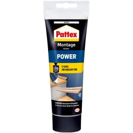 Pattex Montagekleber POWER, weiß, 250 g Standtube