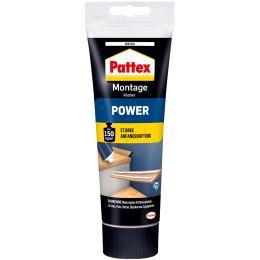 Pattex Montagekleber POWER, weiß, 250 g Standtube