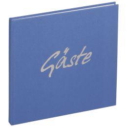 PAGNA Gästebuch Trend, hellblau, 180 Seiten
