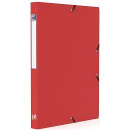 Oxford Sammelbox Memphis, A4, Füllhöhe 25 mm, PP, rot