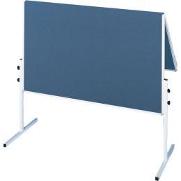 FRANKEN Moderationstafel X-tra!Line, klappbar, Filz, blau