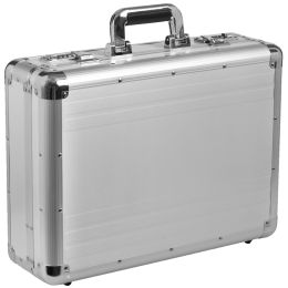 ALUMAXX Attaché-Koffer TAURUS, Aluminium, silber