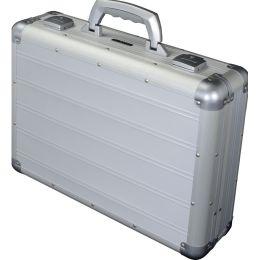 ALUMAXX Attaché-Koffer VENTURE, Laptopfach, silber matt