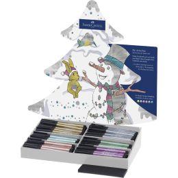 FABER-CASTELL Tuschestift PITT artist pen, 90er Display