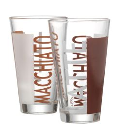 Flirt by R & B Latte-Macchiato-Glas Coffeeparty, 0,33 l