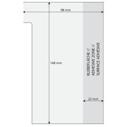 sigel Haftmarker Tab Marker Notes, aus Papier, 42 Blatt