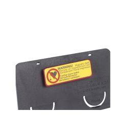 DURABLE Namensschild Clip-Card, mit Magnet, 75 x 40 mm
