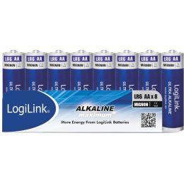 LogiLink Alkaline Batterie Ultra Power, Mignon (AA/LR6)