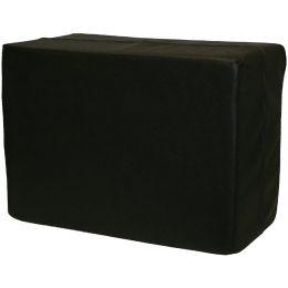 IWH Schaumstoff-Würfel, Maße: 550 x 400 x 300 mm, schwarz
