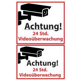 AVERY Zweckform ZDesign Hinweisschild Videoüberwacht, SK