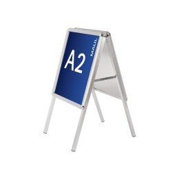 MAUL Plakatständer, DIN A2 - 400 x 575 mm, 2 Klapprahmen