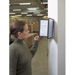 DURABLE Display-System VARIO A5 wall 10, Komplett-Set