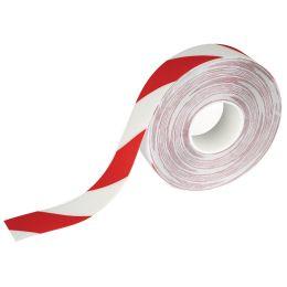 DURABLE Bodenmarkierungsband DURALINE STRONG, rot / weiß