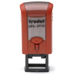 trodat Textstempelautomat Printy 4908, konfigurierbar, rot