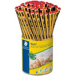 STAEDTLER Bleistift Noris, sechseckig, 72er Köcher