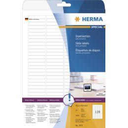 HERMA Dia-Etiketten SPECIAL, 43,2 x 8,5 mm, weiß