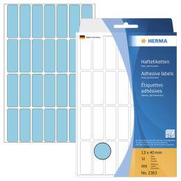 HERMA Vielzweck-Etiketten, 13 x 40 mm, rot, Großpackung