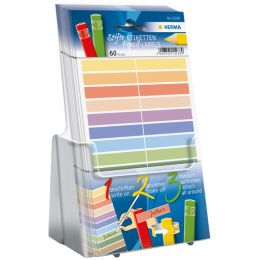 HERMA Stift-Etiketten HOME, farbig sortiert, Acryl-Display