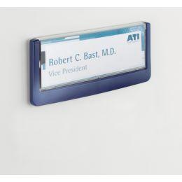 DURABLE Türschild CLICK SIGN, (B)149 x (H)52,5 mm, blau