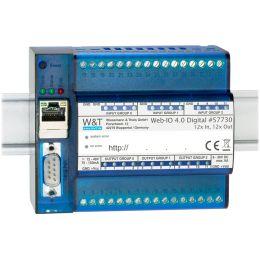 W&T Web-IO 4.0 Digital, 12x Input, 12x Output