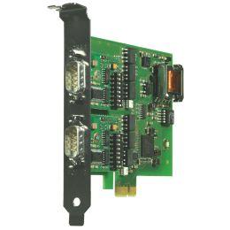 W&T 2xRS232/422/485 PCI Express Karte, galvanische Trennung
